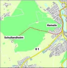 Hameln Karte.Anfahrt Riepenburg Landheime Home Landheime